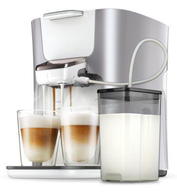 Senseo Latte Duo Plus Kaffeepadmaschine HD6574 20