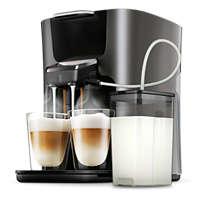 Koffiezetapparaat voor 2 cappuccino's in één keer