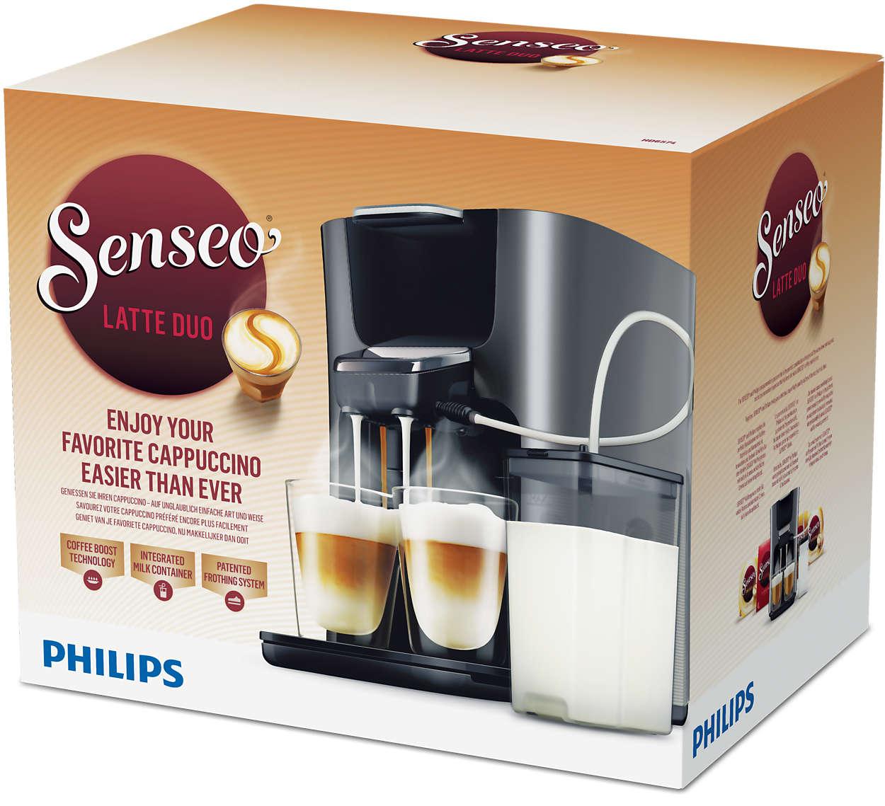Bedienungsanleitung Philips HD6574 Senseo Latte Duo Plus