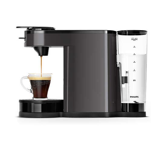 Switch Pad- und Filterkaffeemaschine