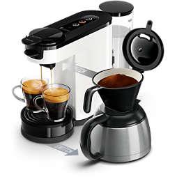 SENSEO® Switch Pad- und Filterkaffeemaschine