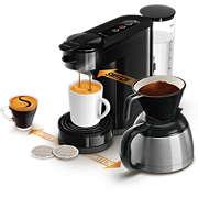 SENSEO® Switch 3in1 Kaffemaskine Base+ Sort