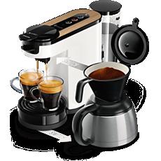 HD6596/01 SENSEO® Switch Machine à café à dosettes et filtre