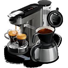 HD6596/50 -  SENSEO® Switch Premium Machine à café à dosettes et filtre