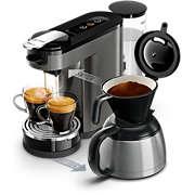 SENSEO® Switch Premium Machine à café à dosettes et filtre