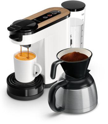 Buy Pude- og filterkaffemaskineHD6597/00 online | Philips Shop