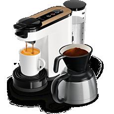 HD6597/00 SENSEO® Switch 3in1 Kaffemaskin för kapslar och bryggkaffe