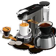HD6597/50 SENSEO® Switch 3in1 Machine à café à dosettes et filtre