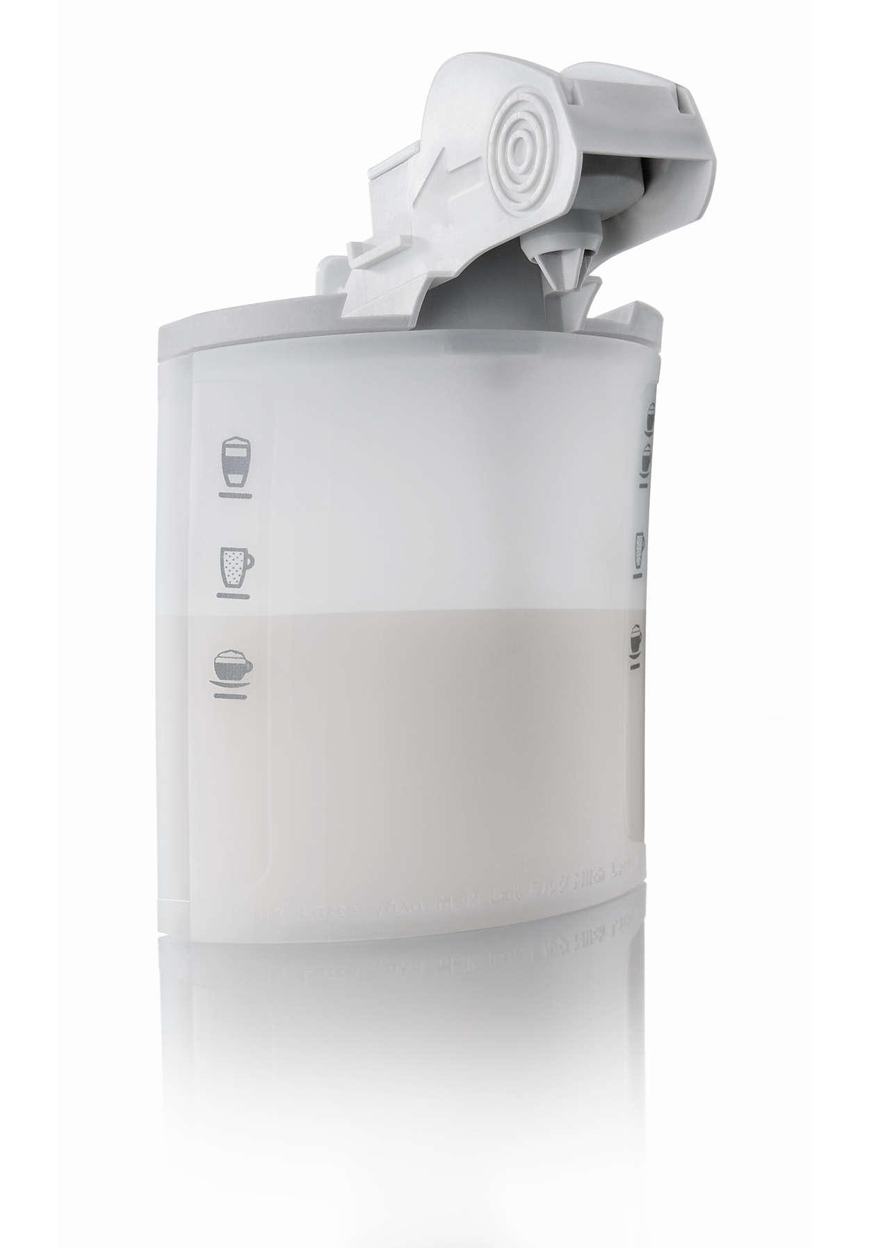 Un café sensationnel. Une délicieuse mousse de lait.