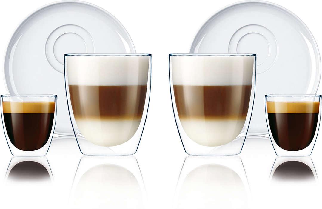 Un goût exquis pour les amoureux du café