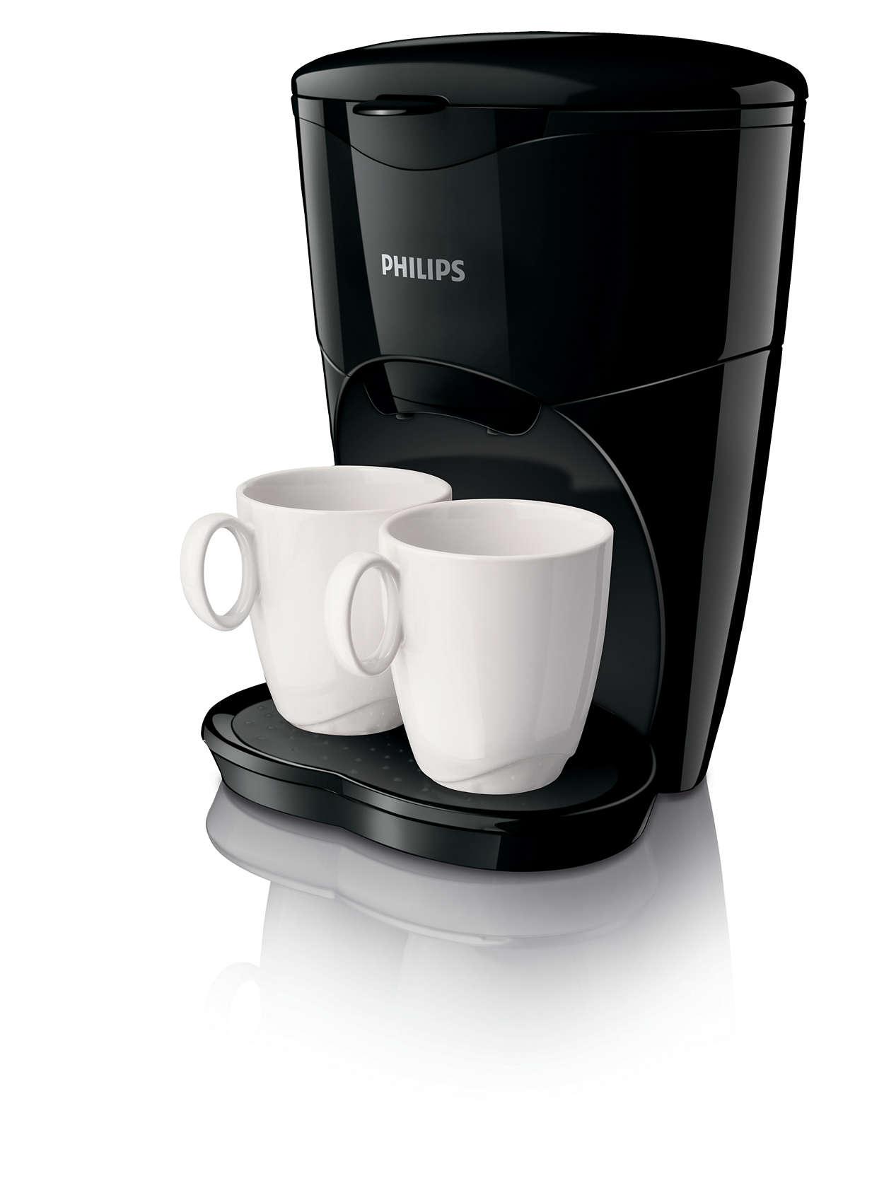 Njut av äkta kaffe för två