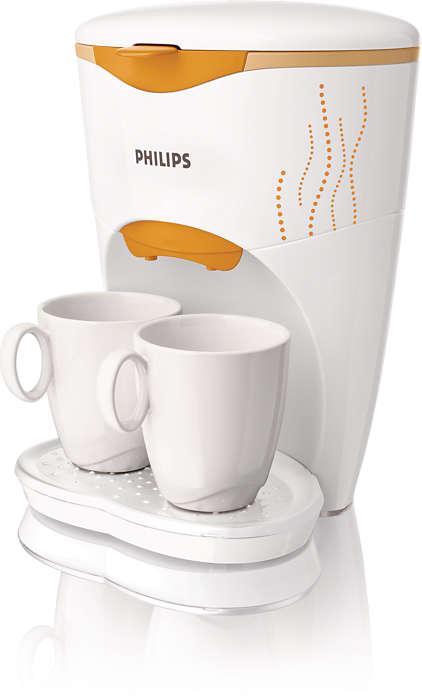 Met z'n tweeën genieten van echte koffie