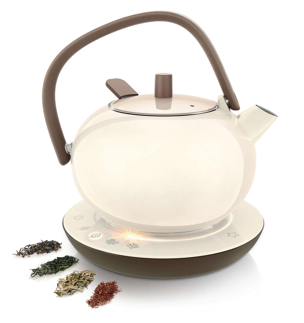 Dê vida ao seu chá