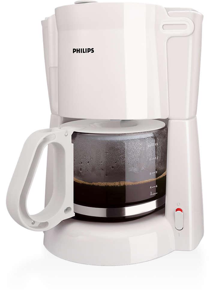Um bom café de filtro preparado facilmente