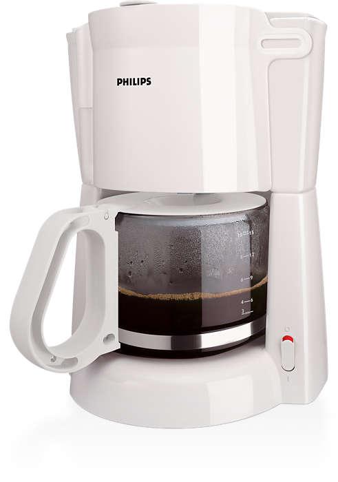 Dobrá prekvapkávaná káva sjednoduchou prípravou