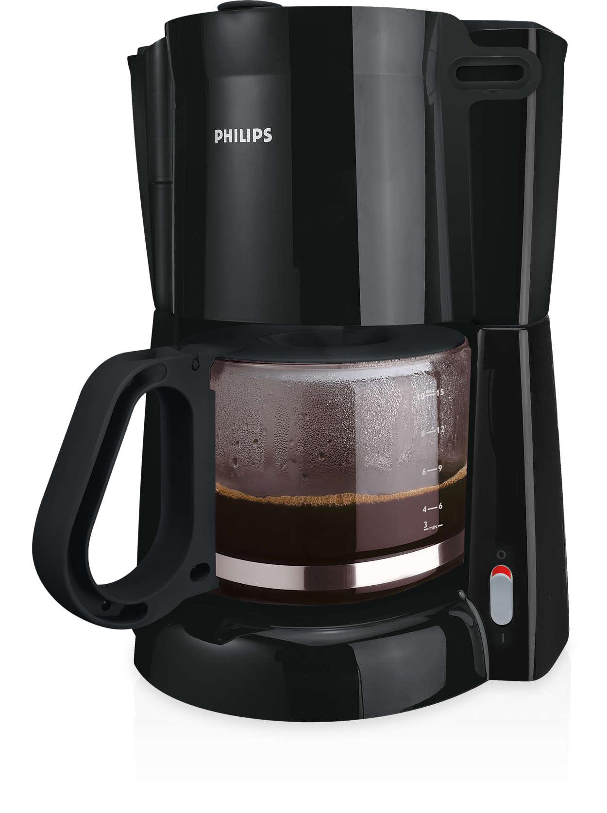 Könnyen elkészíthető, jó minőségű csepegtetős, filteres kávé