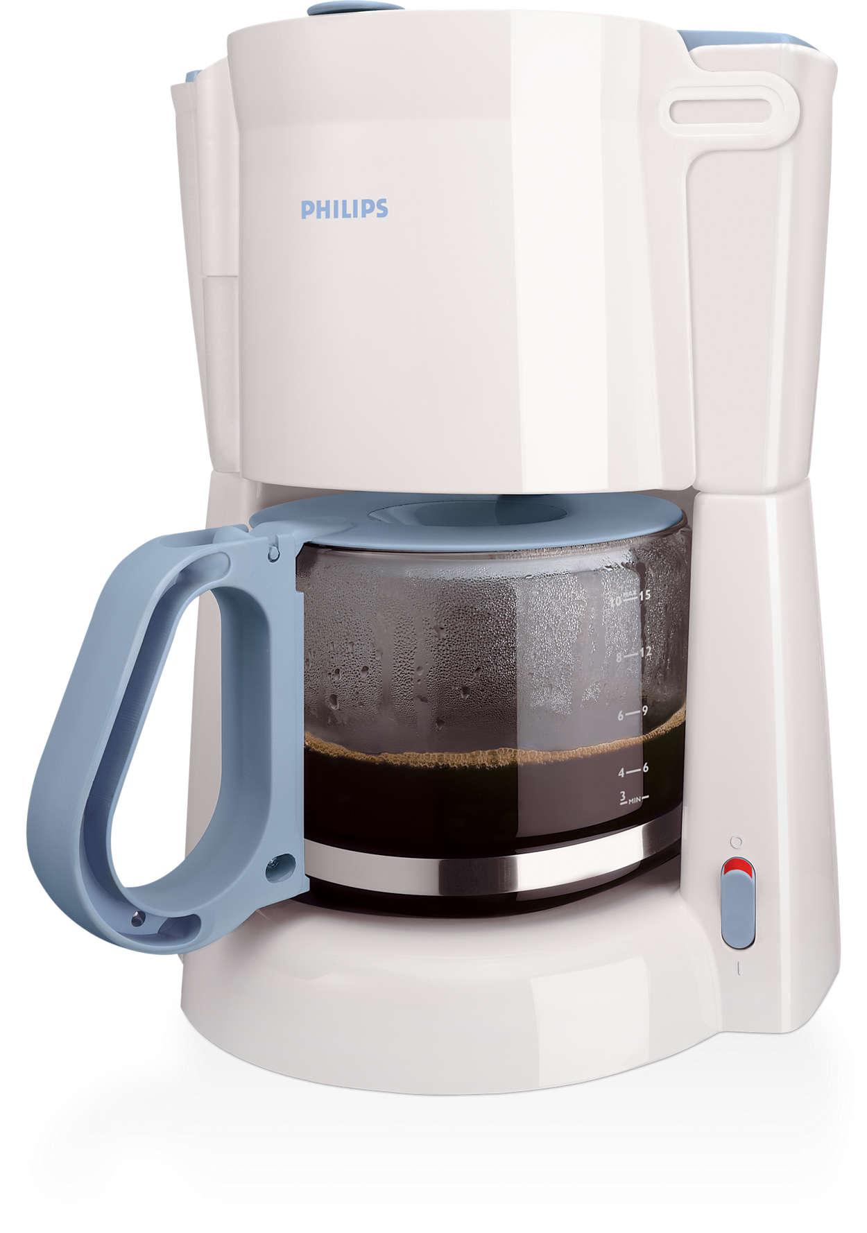 Добро филтърно кафе, приготвено лесно
