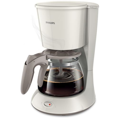 Buy With glass jug Silk Beige Coffee maker HD7447/00 online Philips Shop Philips Shop Singapore