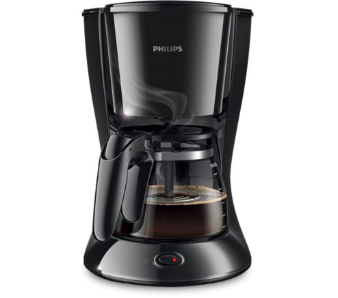Philips Daily Collection Coffee Maker With Glass Jug Black Hd7447 : Daily Collection Coffee maker HD7447/20 Philips