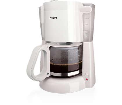 Dobra kawa przelewowa, łatwe przygotowywanie