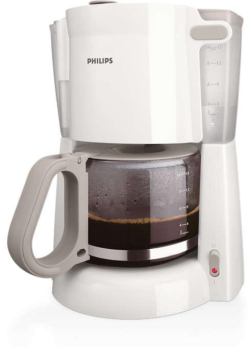 God dryppfilterkaffe som er enkelt å tilberede