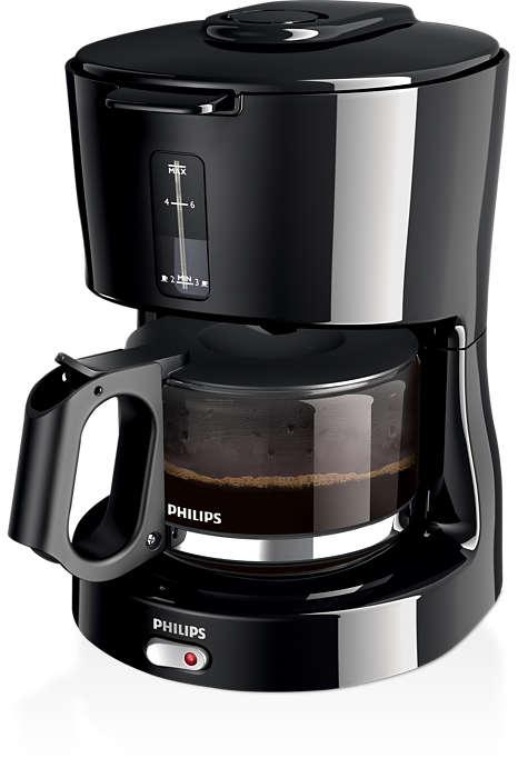Buen café de filtro por goteo que se prepara fácilmente