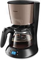 Koffiezetapparaat met glazen kan en timer