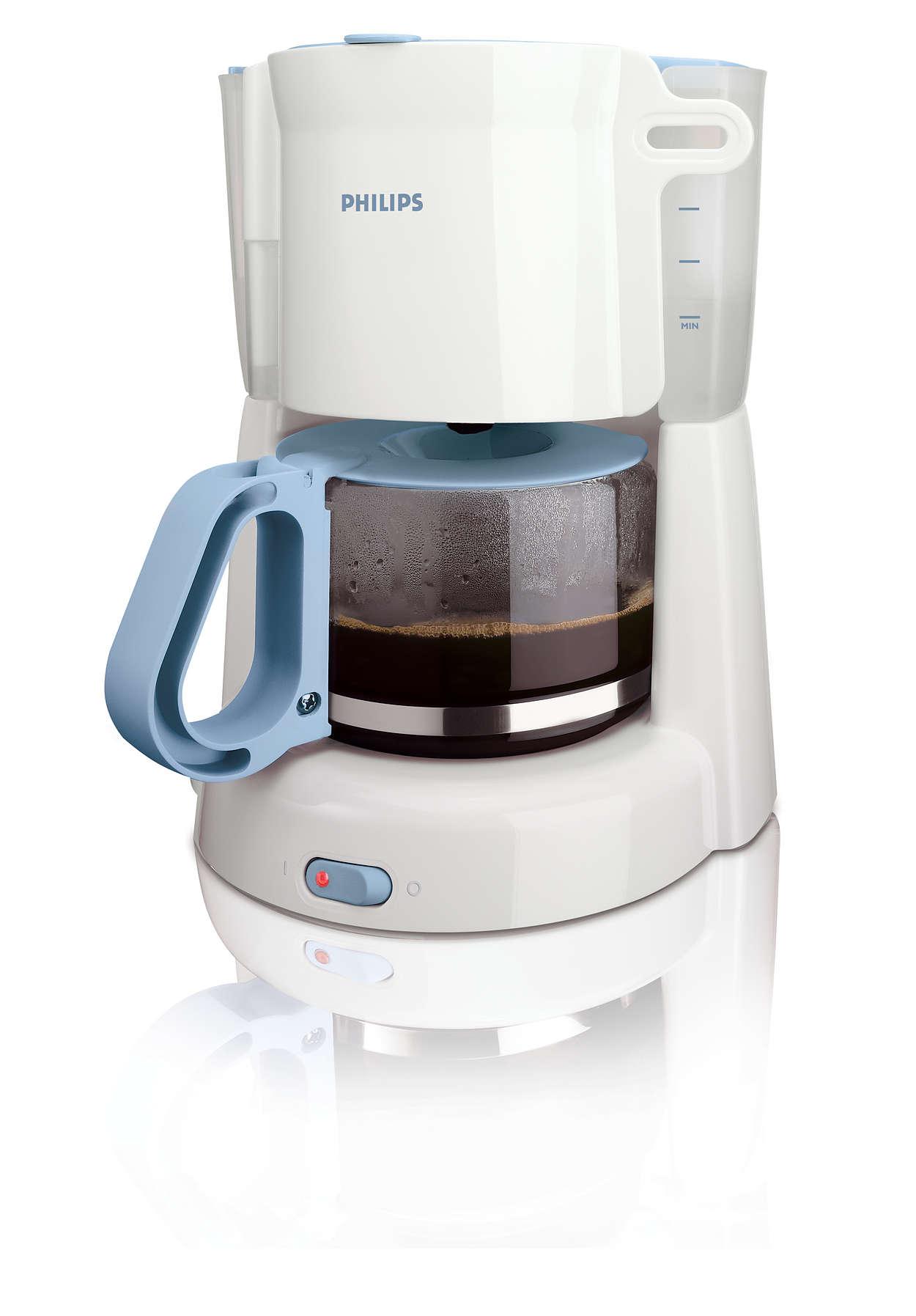 Delicioso café fácilmente
