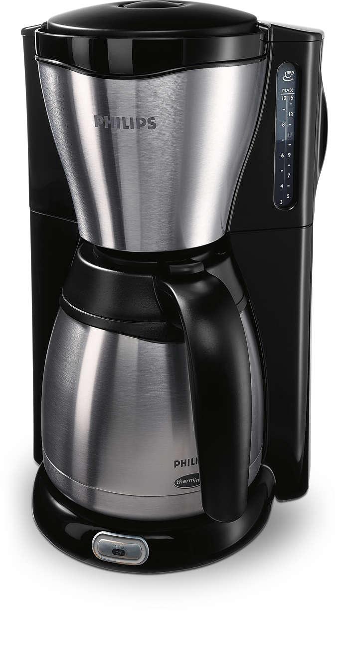 Un delicioso café caliente y nuestro icónico diseño