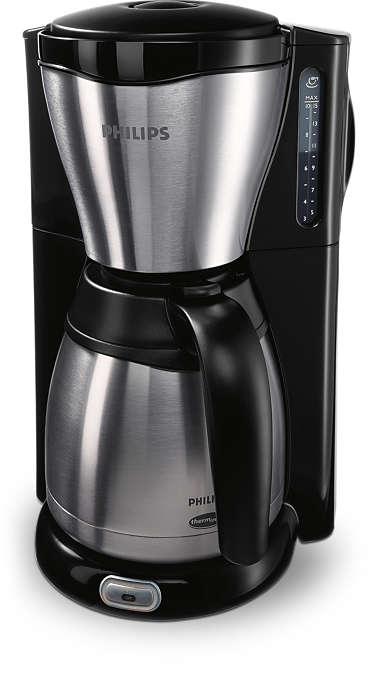 Utsökt och varmt kaffe, med snygg design