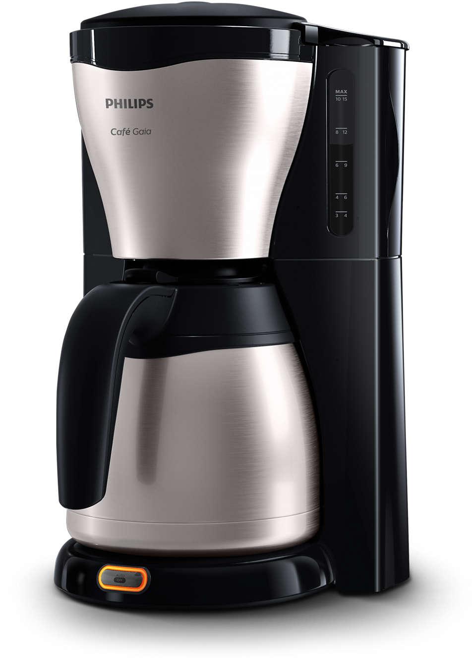 Pyszna, gorąca kawa z ekspresu o olśniewającym wzornictwie