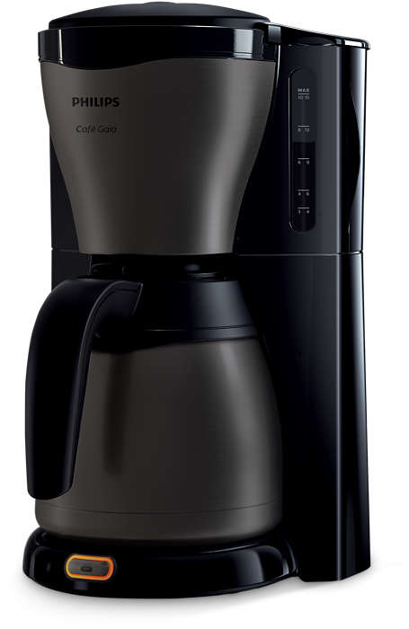 Herkullista kuumaa kahvia, klassinen muotoilu