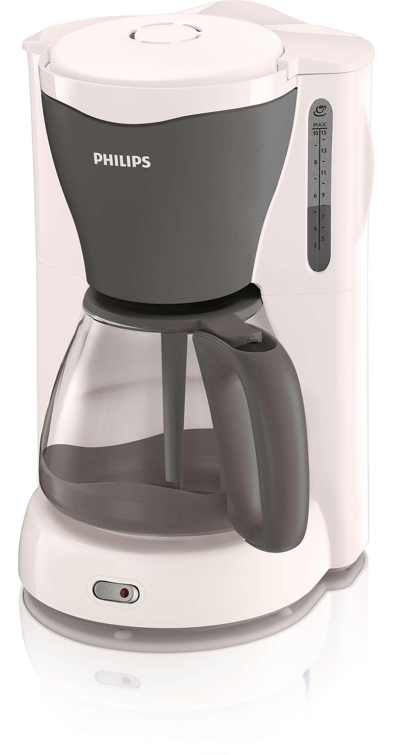 Un café savoureux jusqu'à la dernière goutte