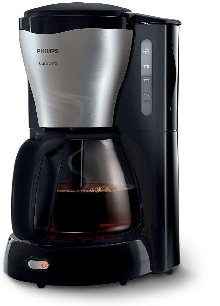 아이코닉한 디자인에서 완성되는 따뜻하고 맛있는 커피