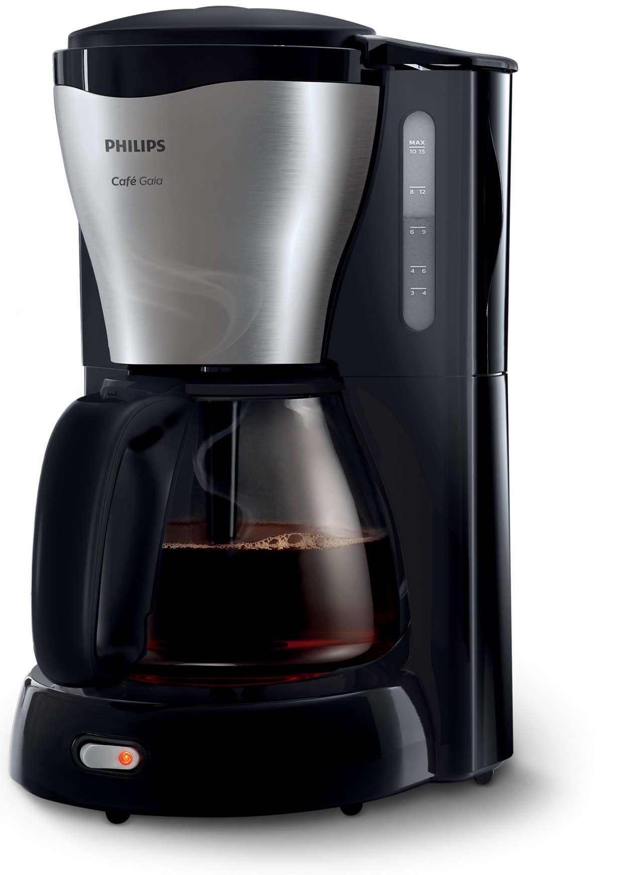 Fantastiskt kaffe till sista droppen