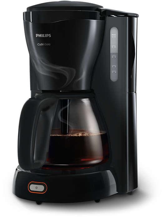 Un café chaud et délicieux, dans notre design emblématique