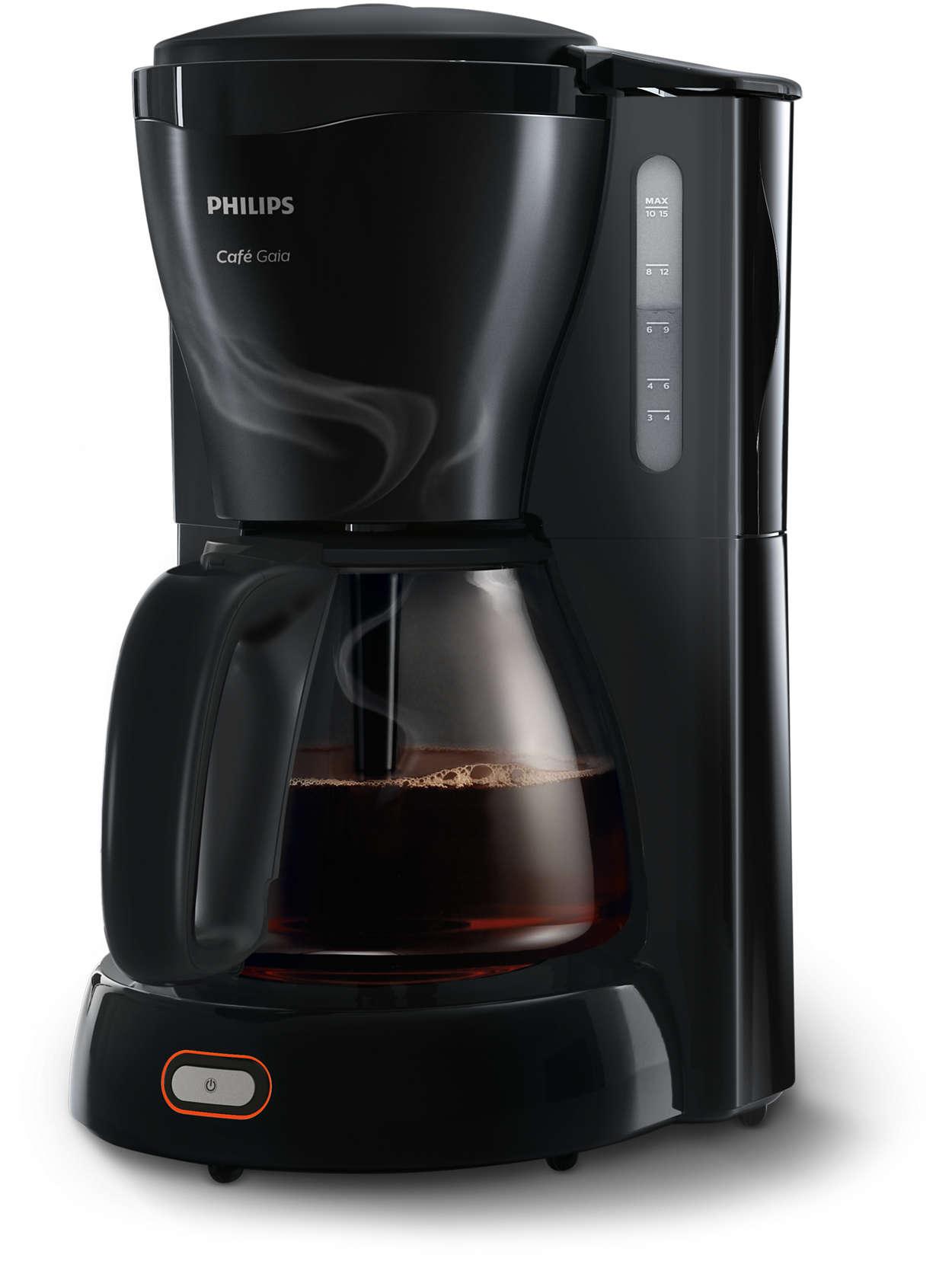 Deilig, varm kaffe fra det ikoniske designet vårt