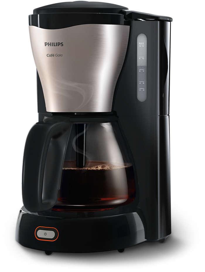 Un caffè caldo e delizioso, in un design elegante