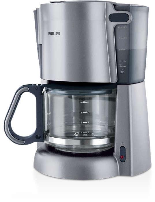 Stiklinis ąsotis tinkamas kavos aparatams su filtru