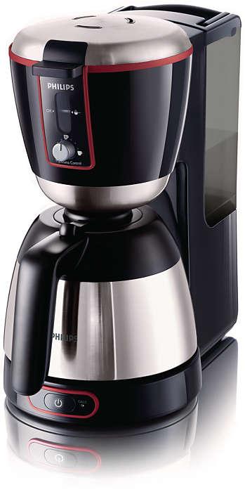 Met één druk op de knop een perfecte espresso