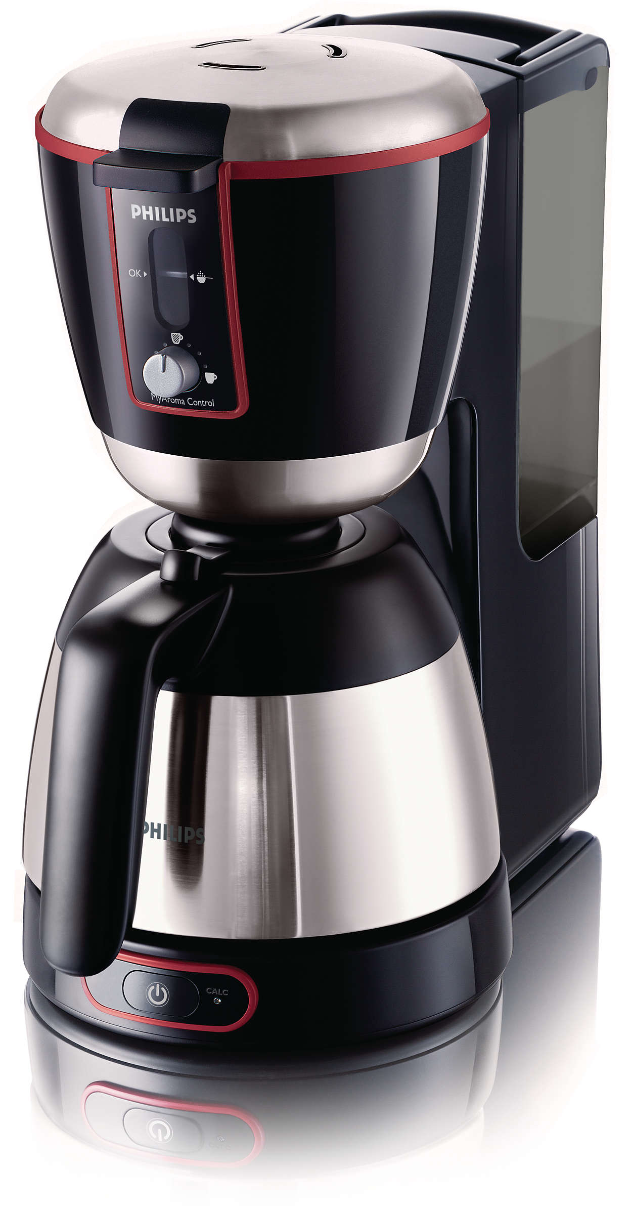 只需一按按鈕,即可享受完美的特濃咖啡