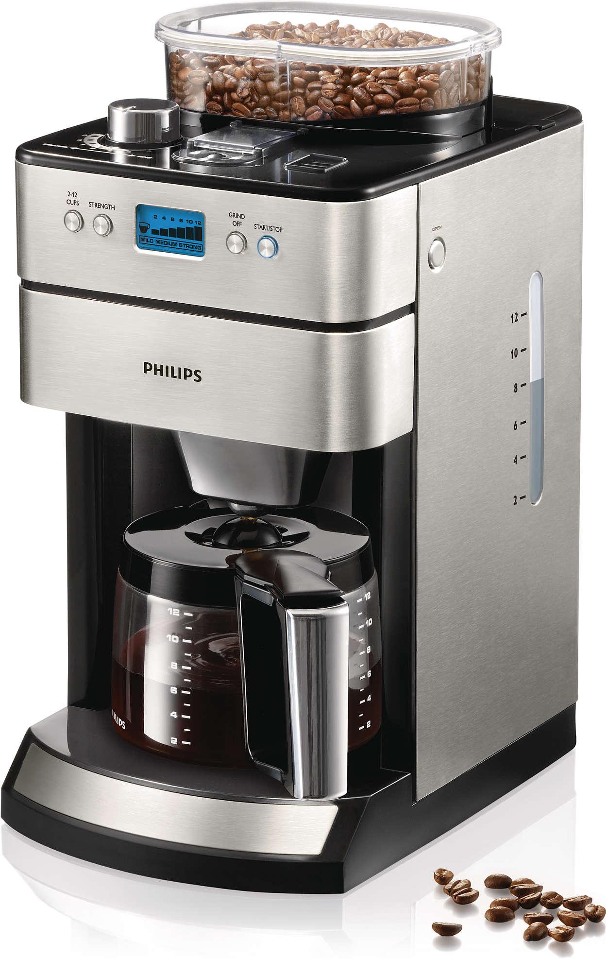 Mükemmel bir kahve için taze çekilmiş kahve çekirdeği gerekir.