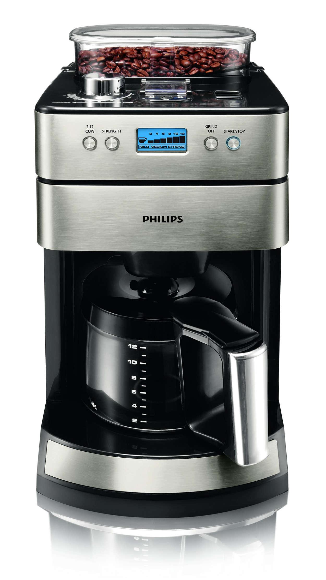 Großartiger Kaffee beginnt mit frischen Bohnen