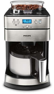 Kaffeemaschinen mit mahlwerk  Grind & Brew Kaffeemaschine HD7753/00 | Philips
