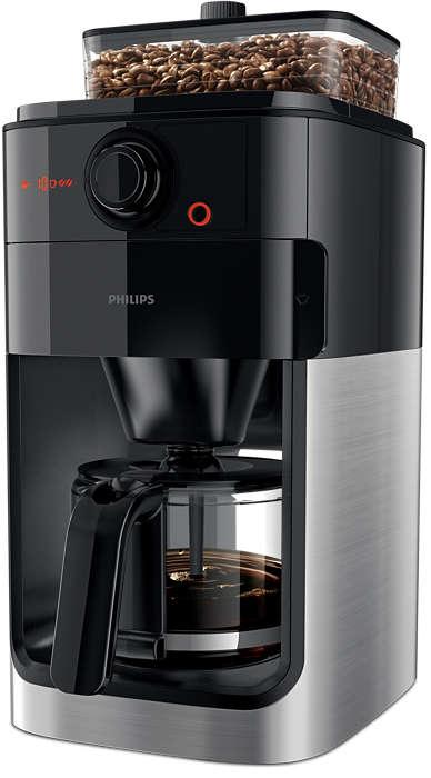 신선한 분쇄 원두로 맛있는 커피를 즐기세요