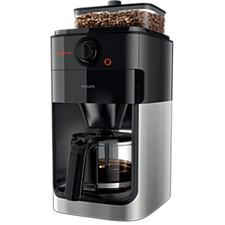 그라인더(원두분쇄기)가 내장된 그라인드 앤 브루 커피 머신