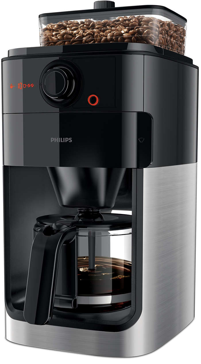 Um óptimo café começa nos grãos acabados de moer