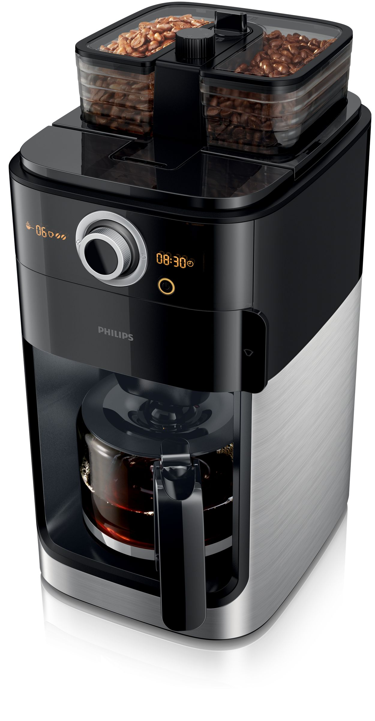 Electronic Buffalo Coffee Machine grind brew coffee maker hd776200 philips change and mix beans to your taste
