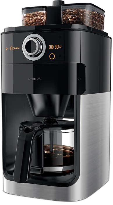 Misture os grãos de café conforme as suas preferências!