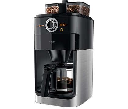 O cafea excelentă începe cu boabe proaspăt măcinate